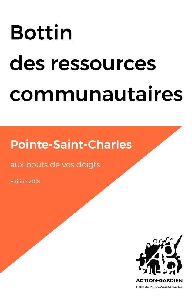 Bottin des ressources communautaire: Pointe-Saint-Charles aux bouts de vos doigts