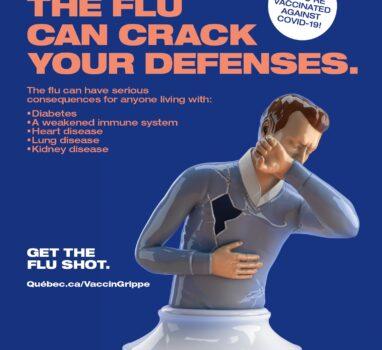 Vaccination against the seasonal flu 2021-2022