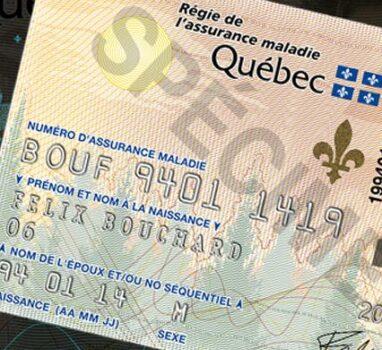 Authentification medicare card
